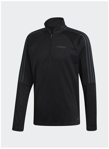 adidas adidas DY7980 SERE19 TRG TOP Erkek Zip Ceket Siyah